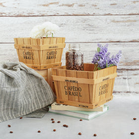 Wooden Planter Box - Set of 2