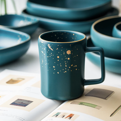 CARA mug - midnight green