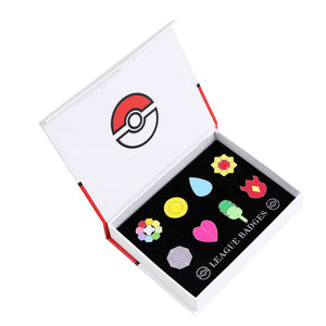 Badges Kanto Ligue Indigo Pokémon