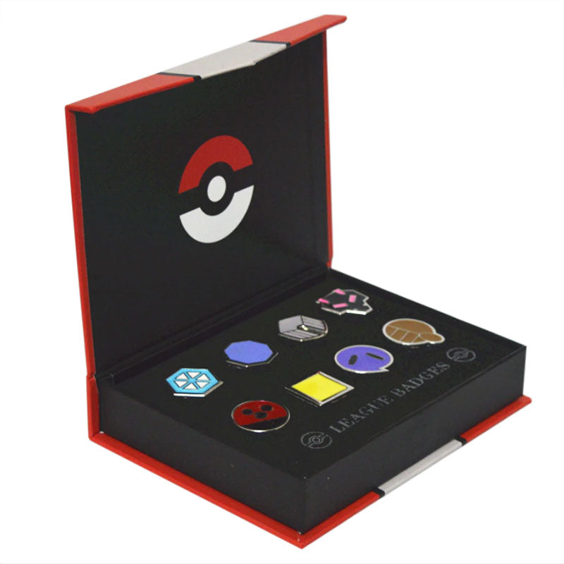 Badges Pokémon région Johto