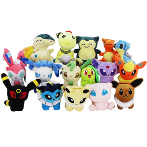 Lot Peluches Pokémon