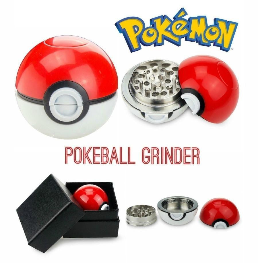 Grinder Pokeball Poké Ball rouge et blanc Pokémon