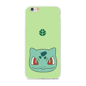 Coque iPhone Bulbizarre Pokémon plante