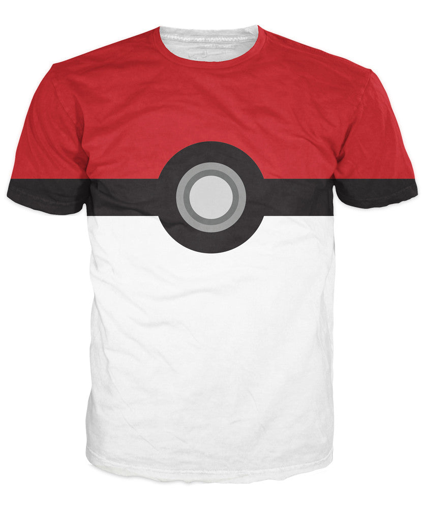T-shirt Pokeball Homme