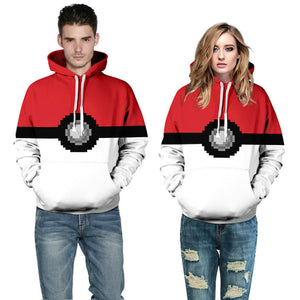 Sweat Pokéball Pokémon adulte Homme Femme