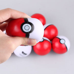 Lot de 10 Pokéballs anti-stress