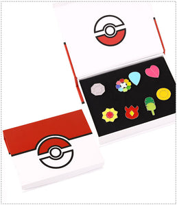 Badges Pokemon Ligue Indigo à Kanto - Pokémon Jaune, Bleu, Rouge
