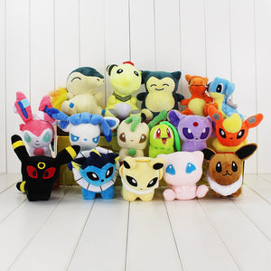 Lot de 16 peluches Pokémon