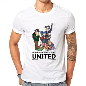 T-shirt Pokémon World Tour United