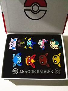 Badges Pokémon : Évolutions d'Évoli