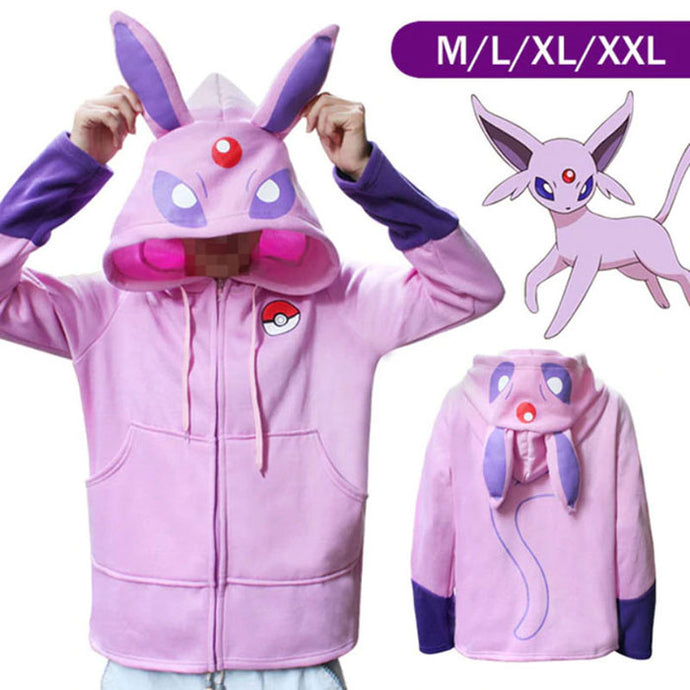 Sweat Mentali à capuche Pokémon adulte