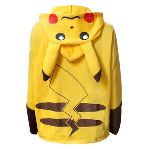 Sweat Pikachu dos capuche