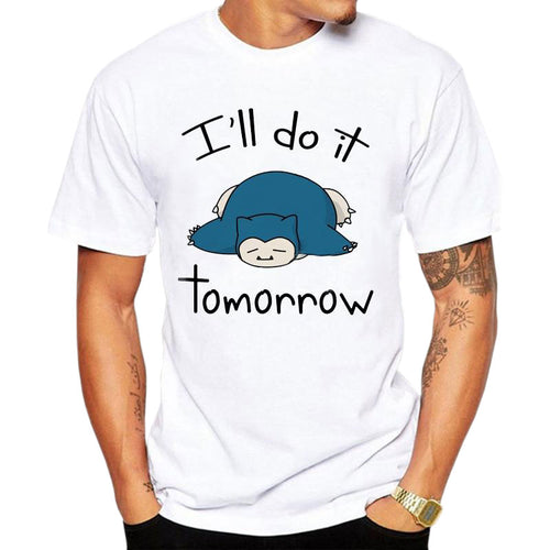 T-shirt Ronflex I'll do it tomorrow