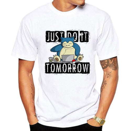 T-shirt Ronflex Just Do It Tomorrow