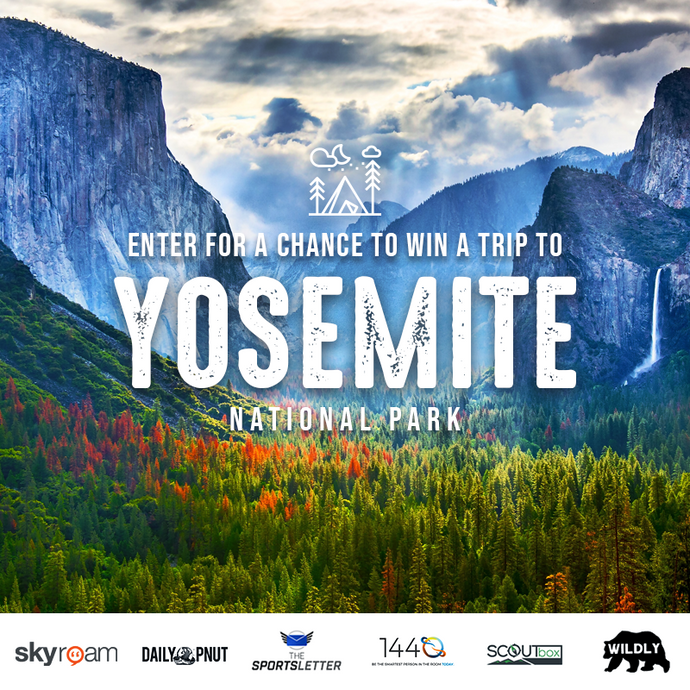 WIN A Trip to Yosemite National Park!