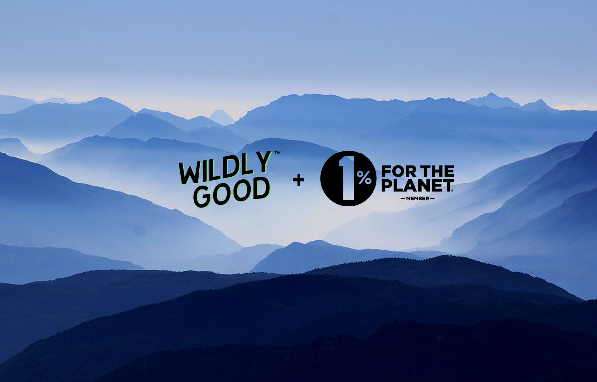 Wildly Goods Commits 1% of all sales to Environmental Causes