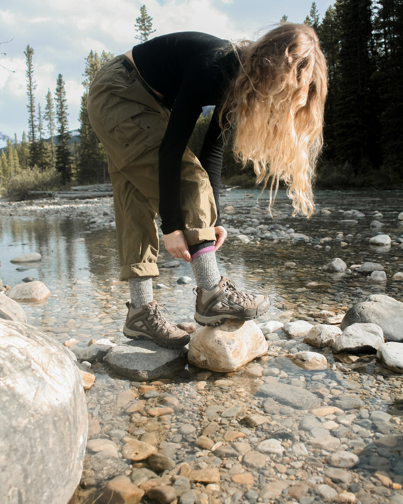 Merino wool socks for hiking