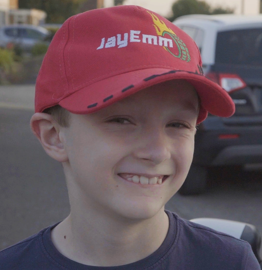 JayEmm on Cars Red Baseball Cap