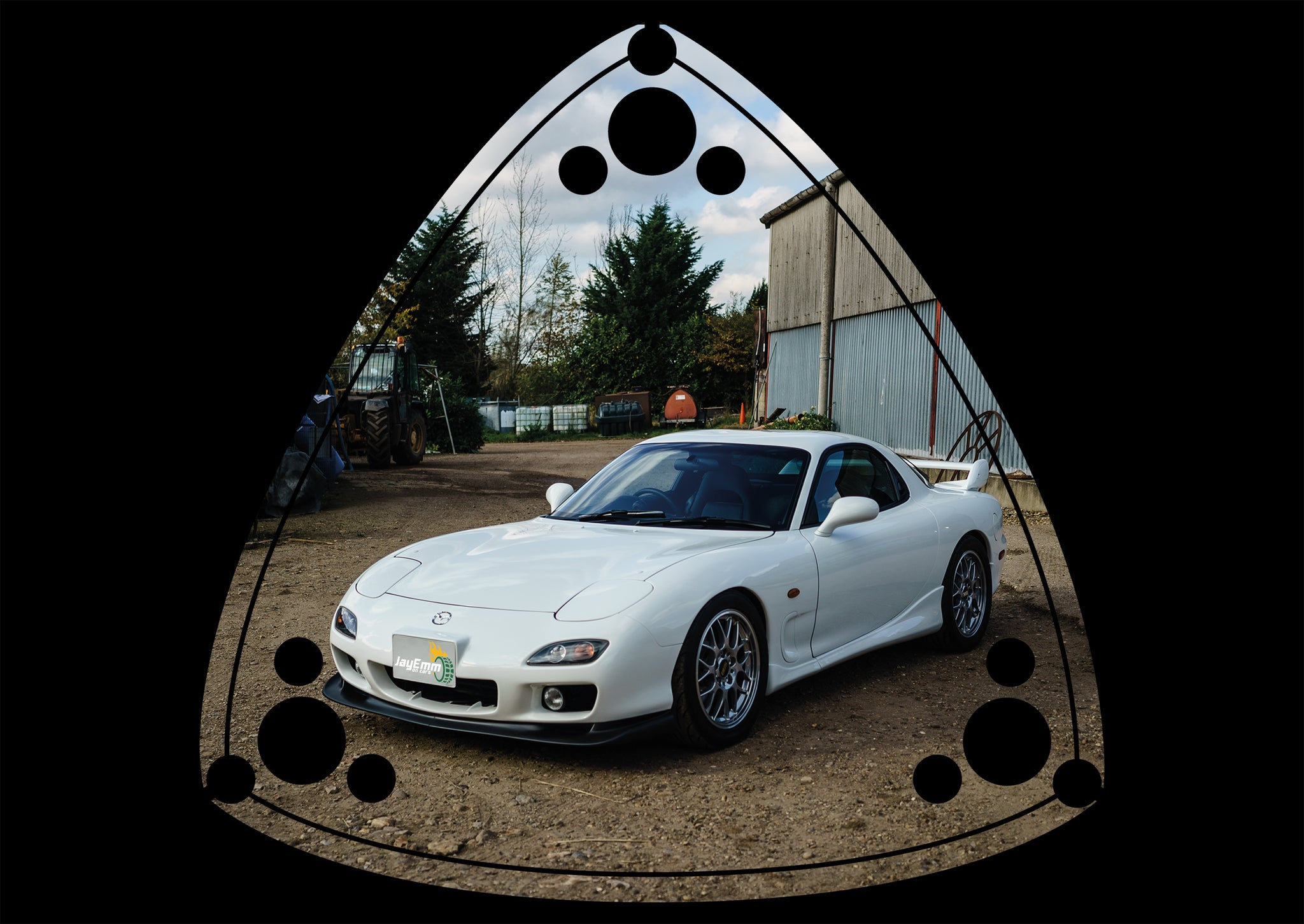 Mazda RX-7 Rotary Founder's Poster - Limited to 50 Copies! (A3)