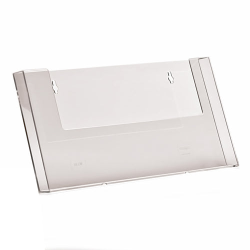 A4 Landscape Wall Mounted Leaflet Dispenser