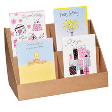 4 pocket a5 greeting cards stand
