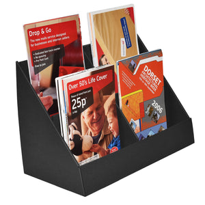 Black a5 leaflet display stand
