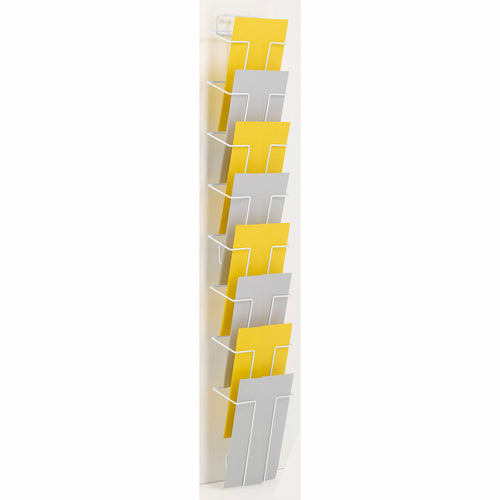 A5 leaflet wall rack