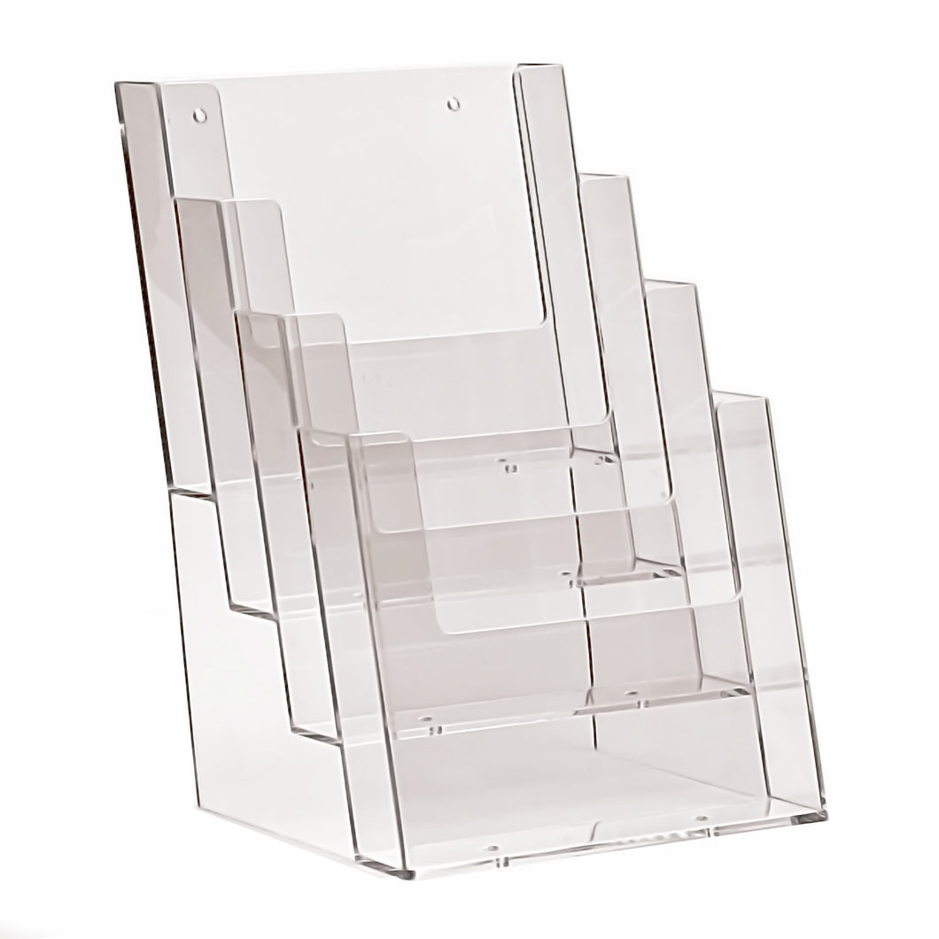 4 Tier Counter Stand for A5 Leaflets