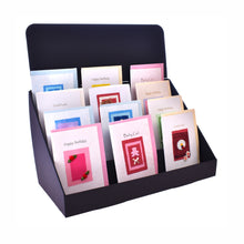 Black Cardboard Greeting Card Stand