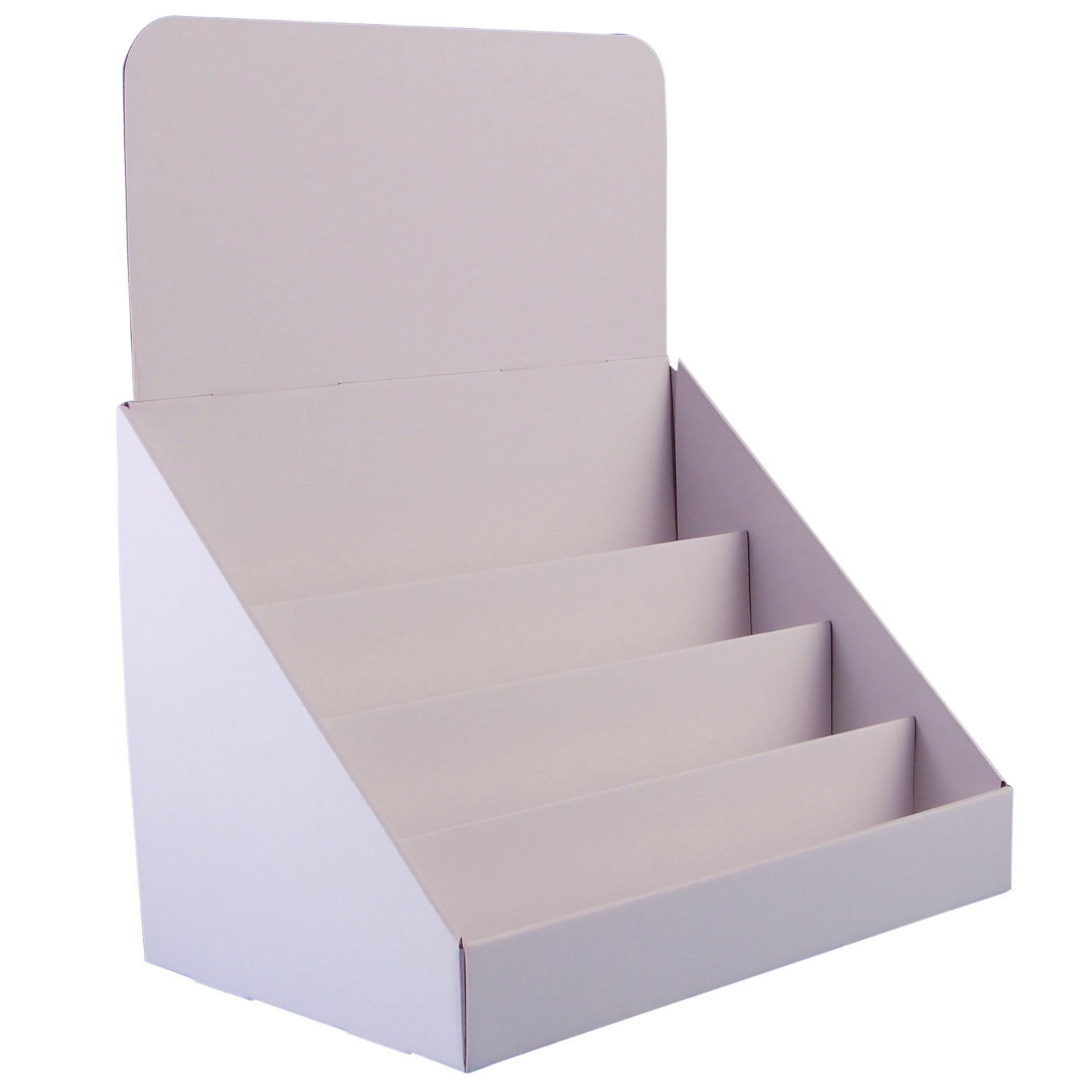 Cardboard Greeting Card Display Stand For A5 A6 Cards Standstore