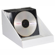 CD display stand in white
