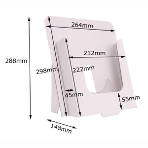 A4 leaflet stand dimensions