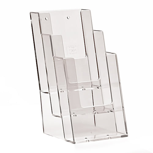 Three tier DL leaflet dispenser