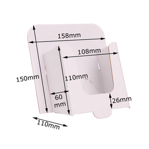 DL leaflet stand size guide