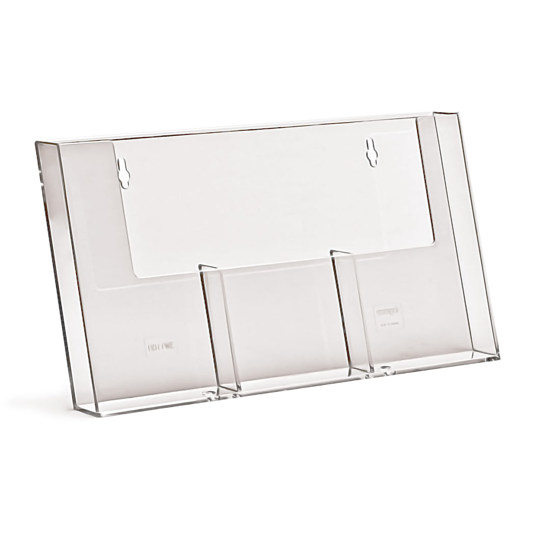 3 Pocket Wall Stand for Trifold Leaflets