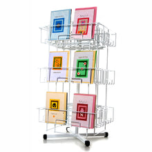 greeting card stand for mixed sizes