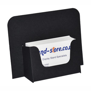Black Cardboard Business Card Dispenser