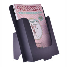Black cardboard dispenser for A4 leaflets