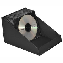 CD dispenser in black