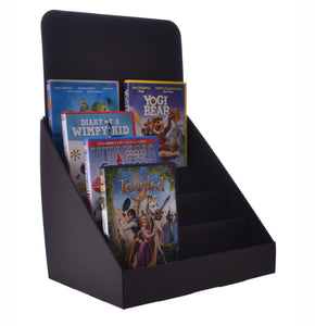 Compact 4 Tier Cardboard Counter Display Stand