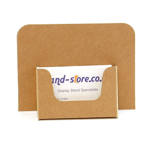Brown Business Card Dispenser