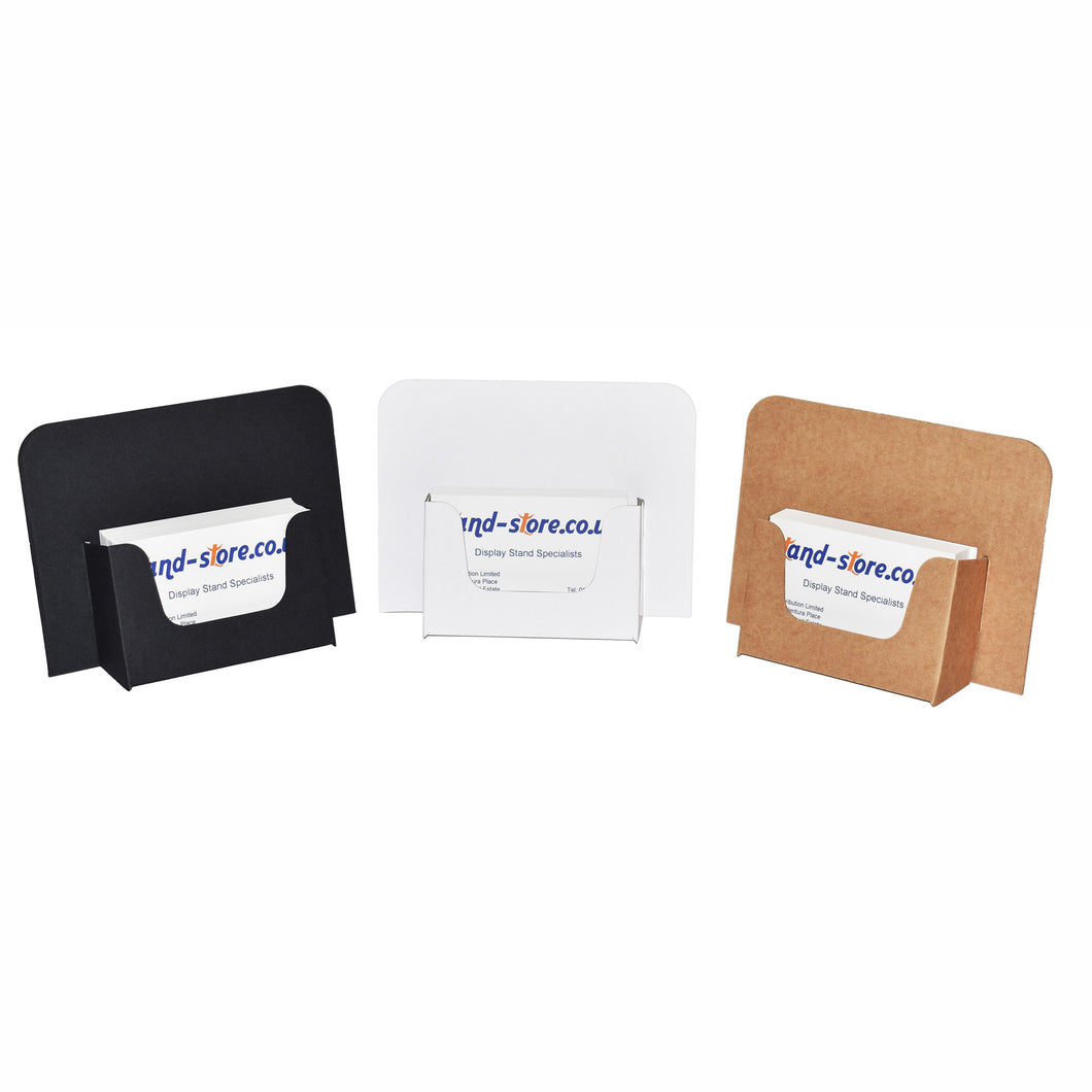 Cardboard Business Card Dispensers