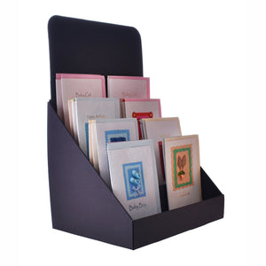 Compact 4 Tier Greeting Card Display Stand