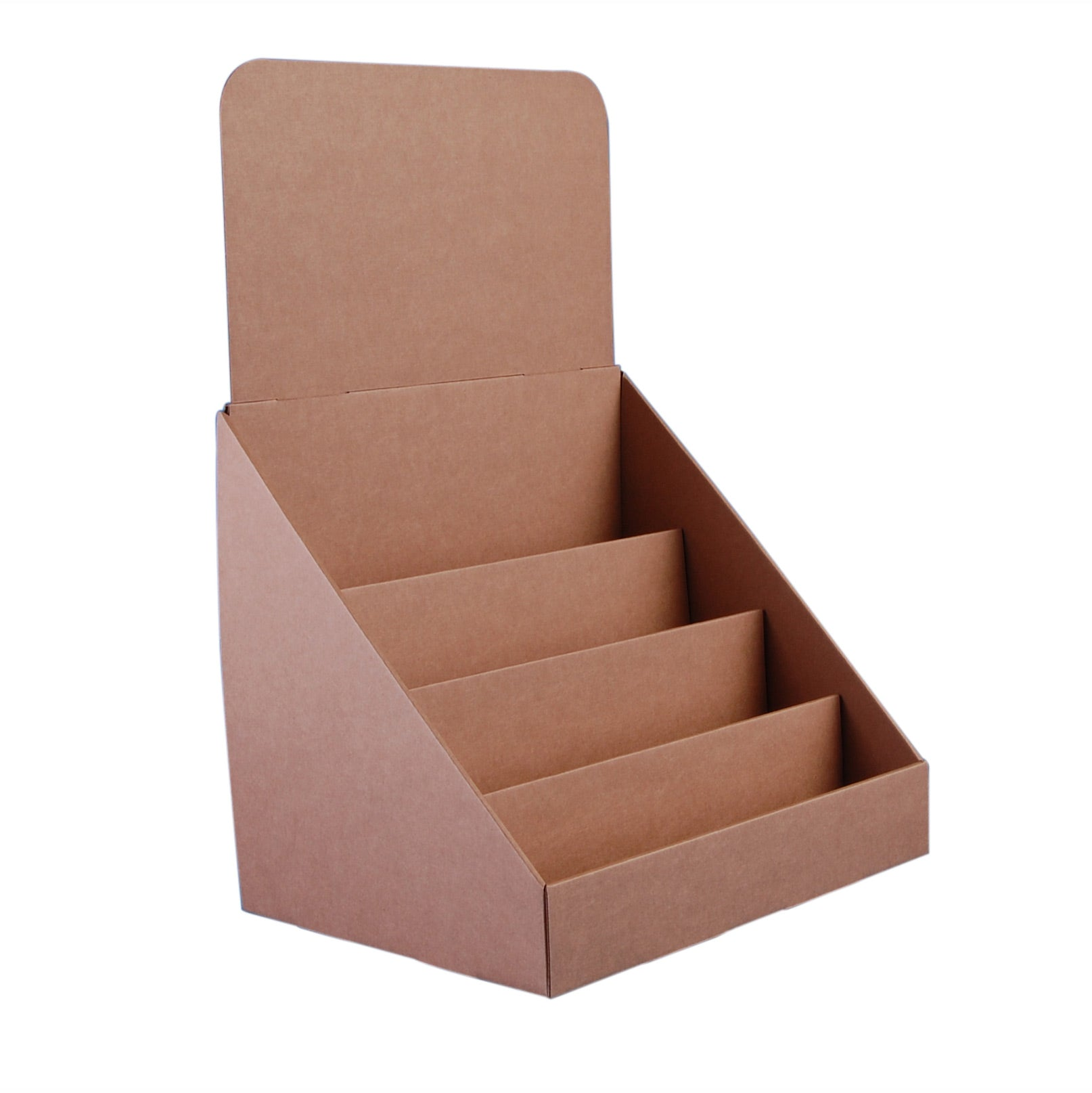 Compact 4 Tier Greeting Card Display Stand Standstore