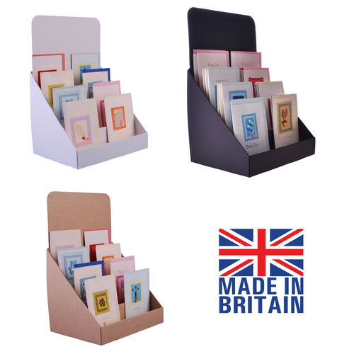 Compact Greeting Card Display Stand