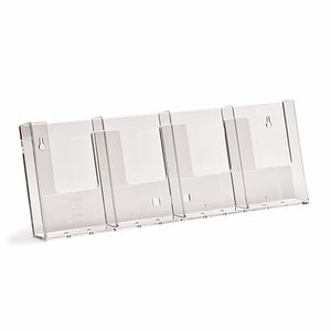 Four pocket DL leaflet dispenser