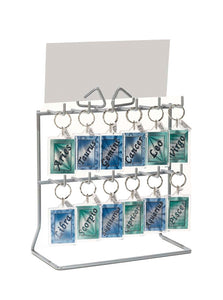12 Hook Key Ring Stand