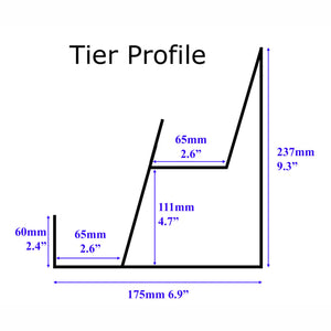 a5 card stand tier profile