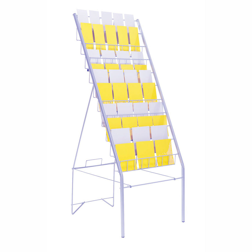 Collapsible tiered stand for mixed products
