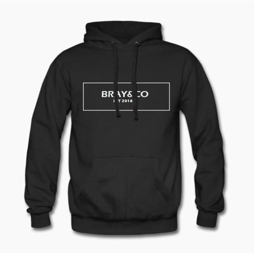 Black Stockhom Hoodie - Bray&Co Clothing